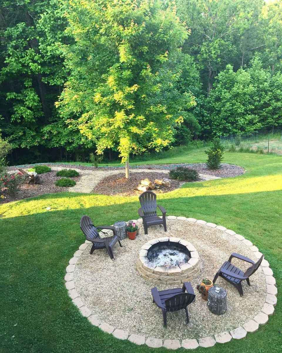 70 awesome outdoor fire pit seating design ideas for backyard