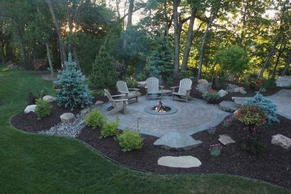 71 awesome outdoor fire pit seating design ideas for backyard