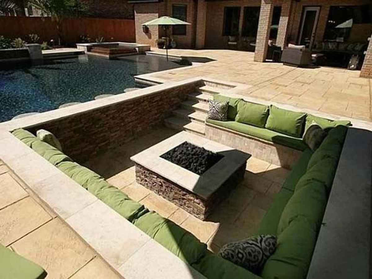 73 awesome outdoor fire pit seating design ideas for backyard
