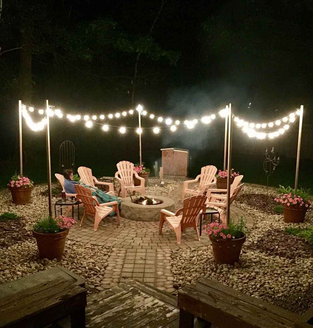 75 awesome outdoor fire pit seating design ideas for backyard