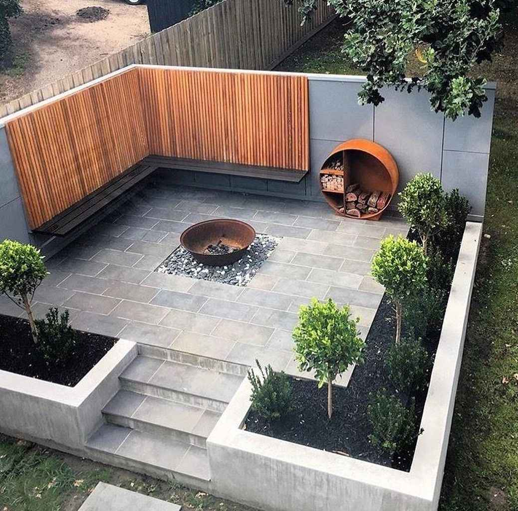 79 awesome outdoor fire pit seating design ideas for backyard