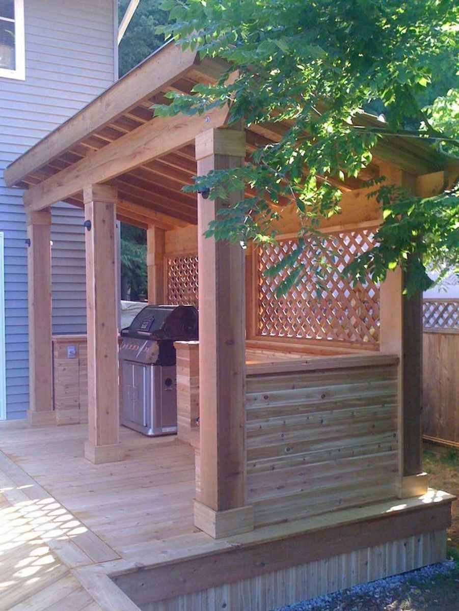 81 best outdoor kitchen and grill for summer backyard ideas