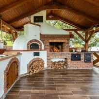 85 best outdoor kitchen and grill for summer backyard ideas