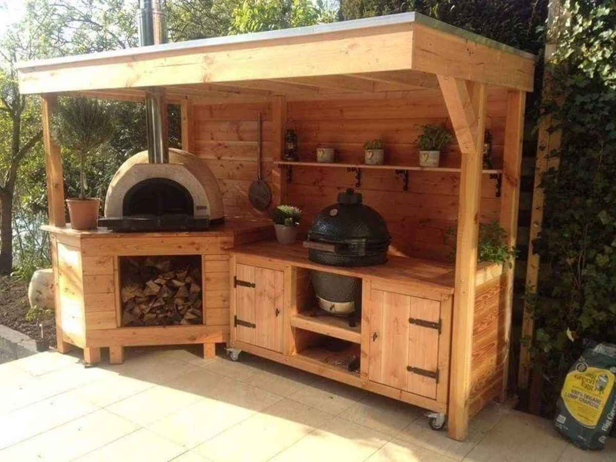 86 best outdoor kitchen and grill for summer backyard ideas
