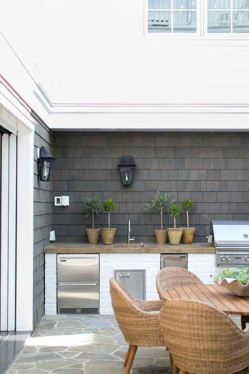92 best outdoor kitchen and grill for summer backyard ideas