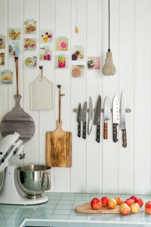 Cmo decorar la cocina con fotografias y tablas de corte