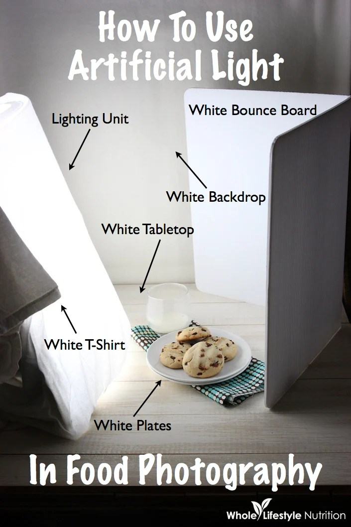 Behind The Scenes  How To Use Artificial Light In Food Photography  Whole Lifestyle Nutrition