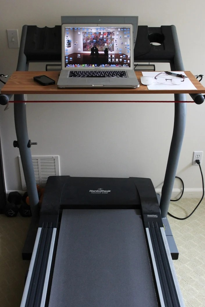 How To Build A Treadmill Desk For Under 20  Whole
