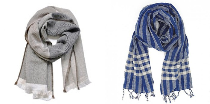 Gift ideas for Christmas ethical.market Scarves