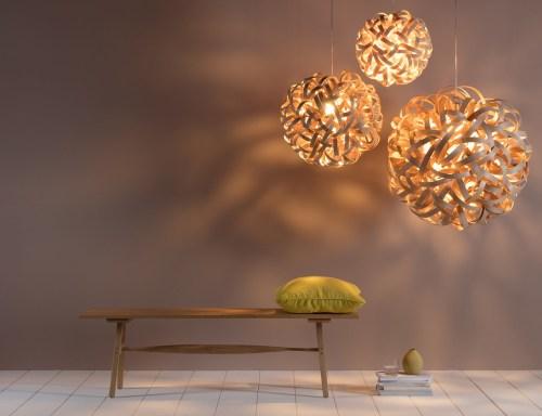 Tom Raffield's steam-bent wood furniture