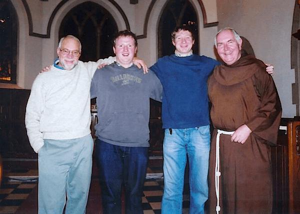 Bro. David Jardine with Mike Evans
