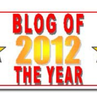 2012 Blog of the Year Award!