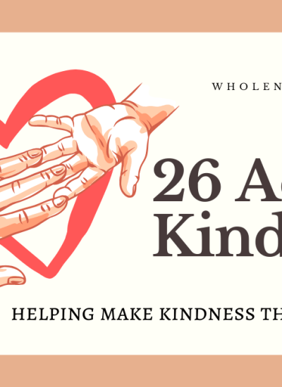 26 Awe Inspiring Acts of Kindness Examples