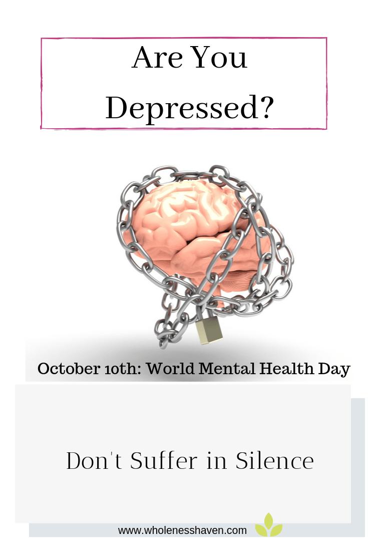 depression: world mental health day