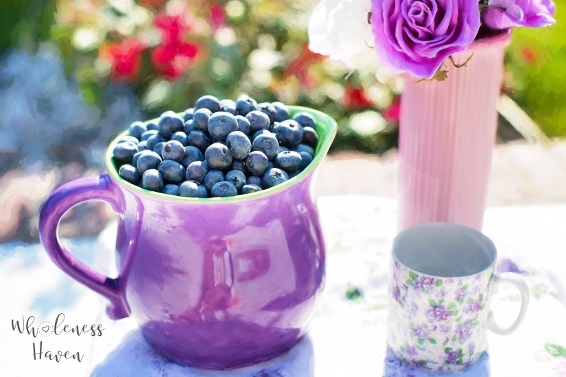 blueberries: foods high in antioxidants