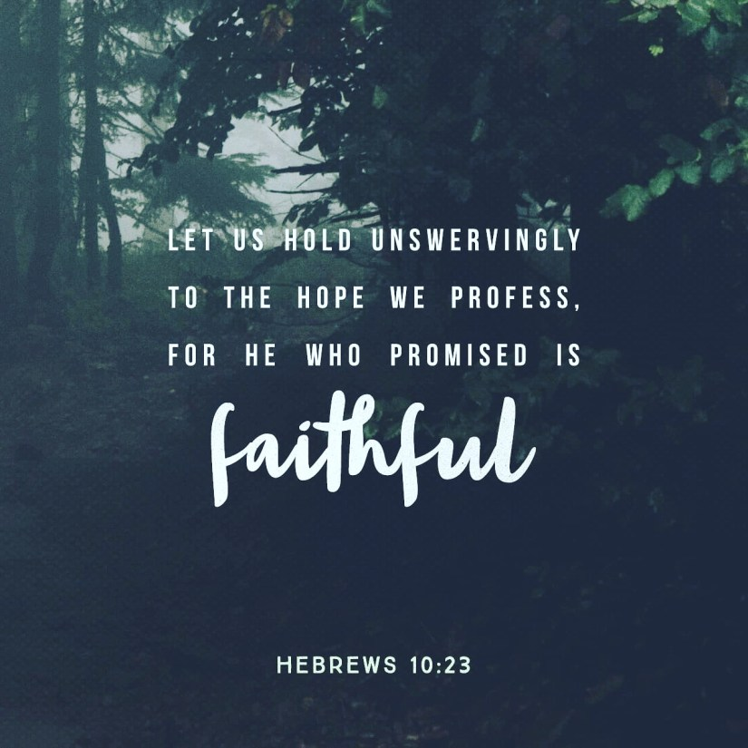 yes and amen: God is faithful!