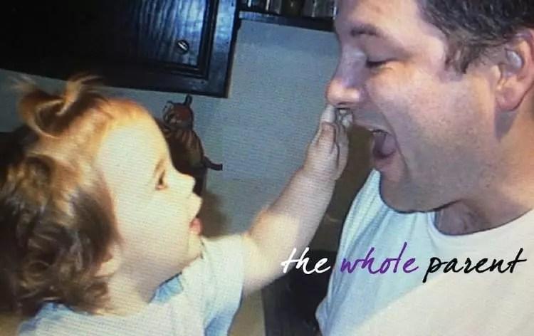 John McElhenney and daughter