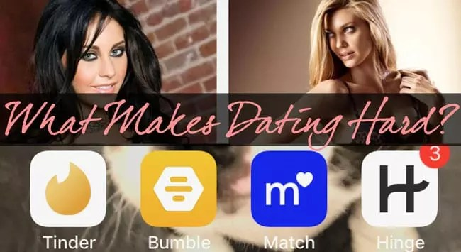 What Makes Dating Hard: Can We Be Honest Online and In-Person?