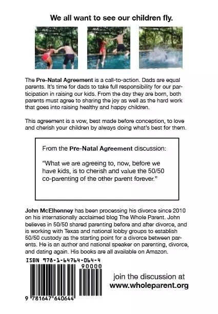 The Pre-Natal Agreement - back cover
