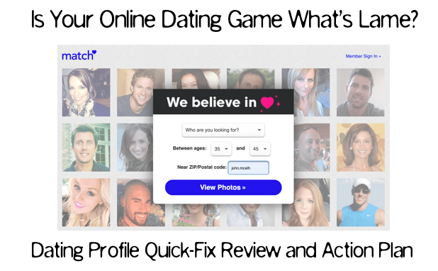 dating profile review