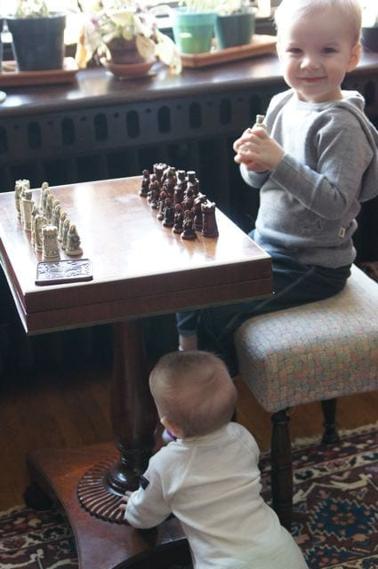 I'd love to play chess