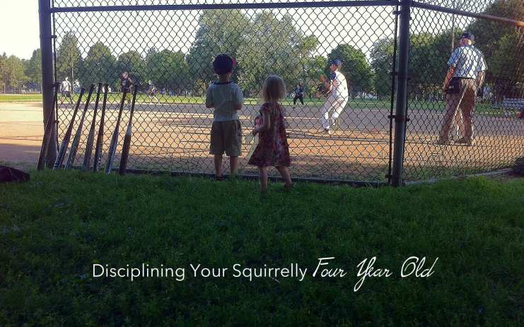 four year old discipline