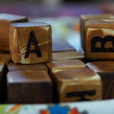 Wooden Alphabet Blocks with a Story {review & discount}