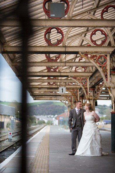 trash the dress aberystwyth train station
