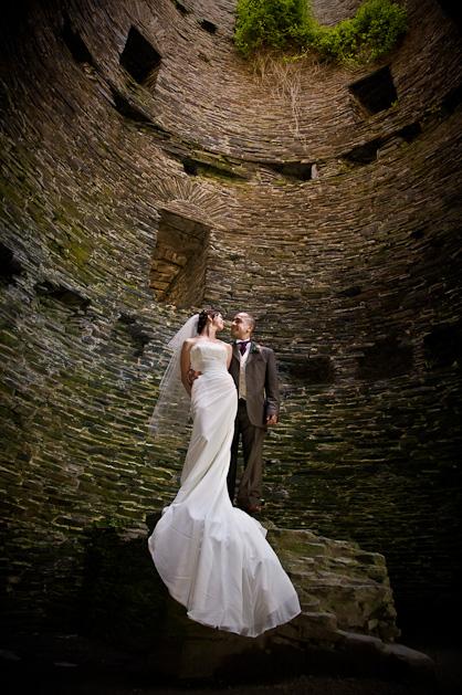 Photographs from Ryan and Becca's Rhosygilwen wedding