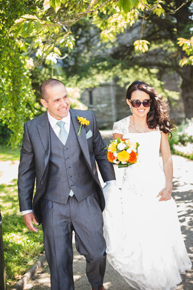 Nina and Rhys at Jabajak Vineyard