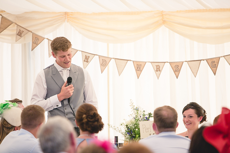 Marquee wedding in Mid Wales by Whole Picture Weddings