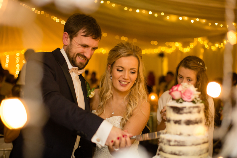 Becky and Simon's Christmas Wedding at Woodhouse Barn