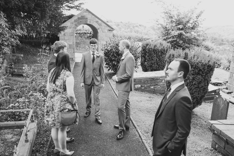 documentary wedding photographer Wales