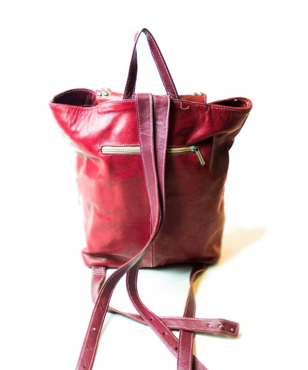 women's leather backpack LP05LB-wbp-2572