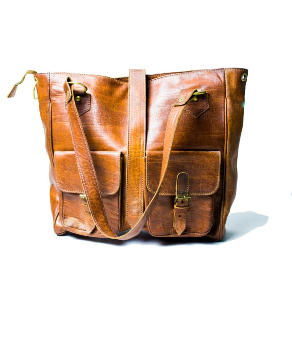 leather Tote hand bag LP35LB-hb-0