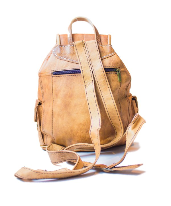 leather backpack Bag LP25LB-bp2-2588