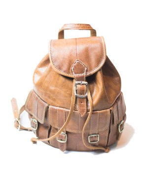 leather backpack Bag LP07LB-bp-0