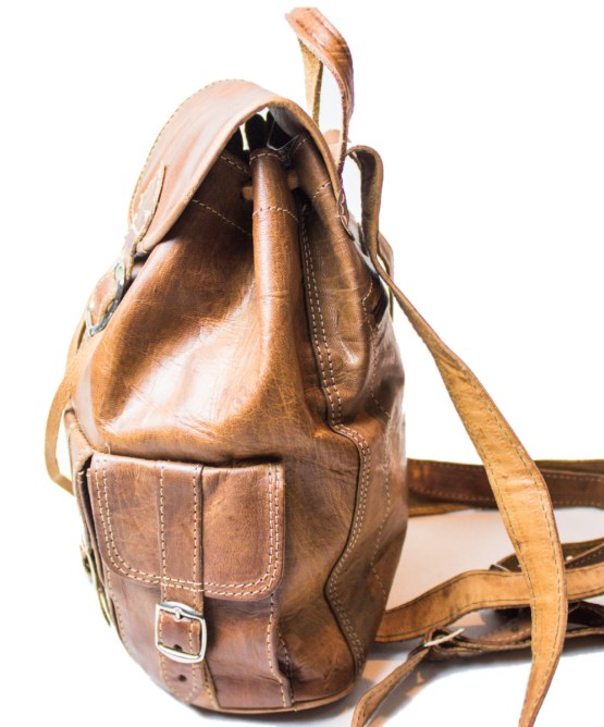 leather backpack Bag LP07LB-bp-2575