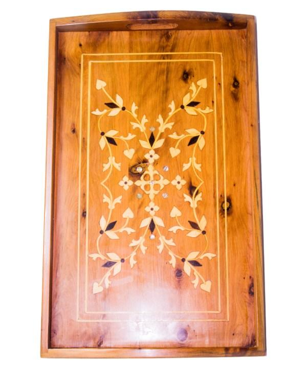 Tray of Thuya wood WP-01WT-2883