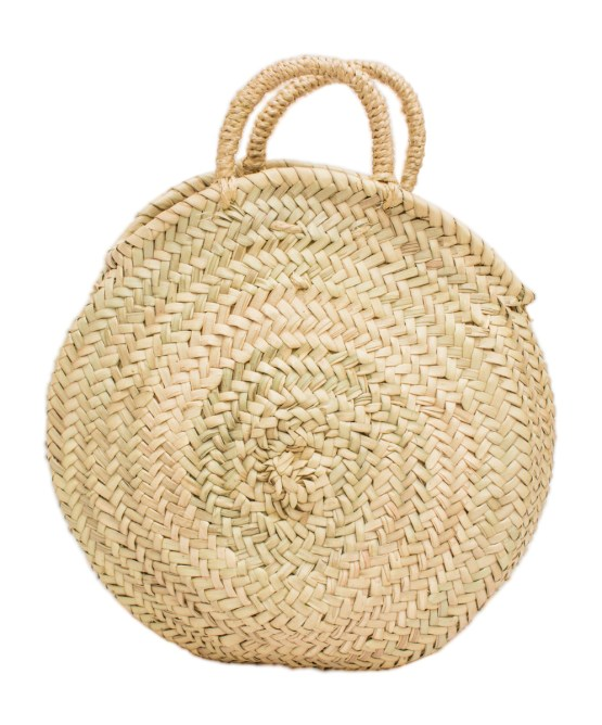 roundly straw basket FP-02CSB-0