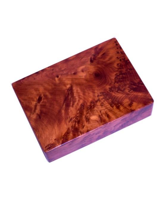 Square wood box SWJB-17-0