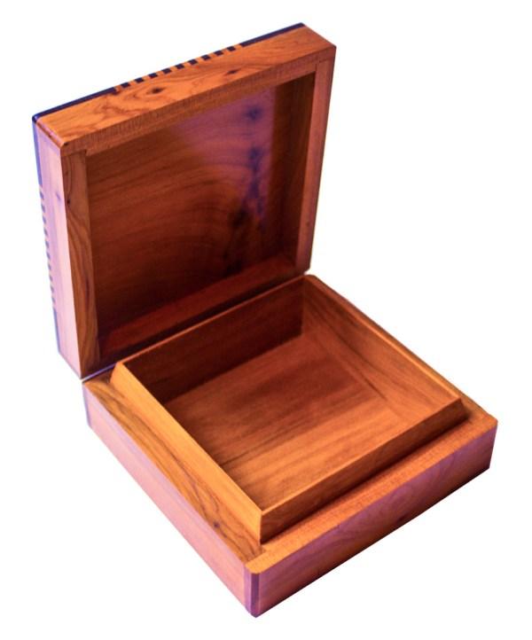 Square wood box SWJB-01-2742
