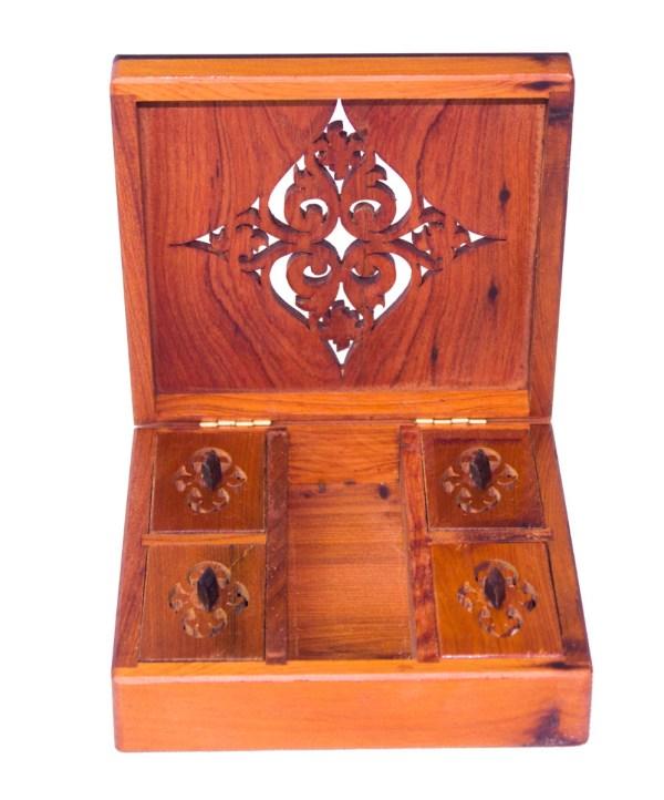 Square wood box SWJB-12-2816