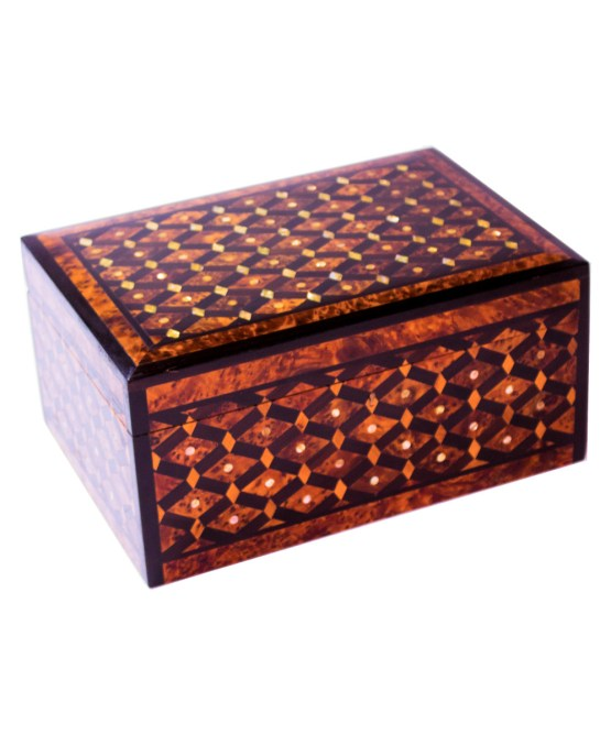 Square wood box SWJB-07-0