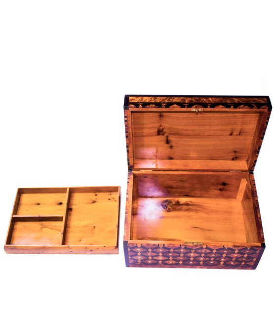 Square wood box SWJB-07-2803