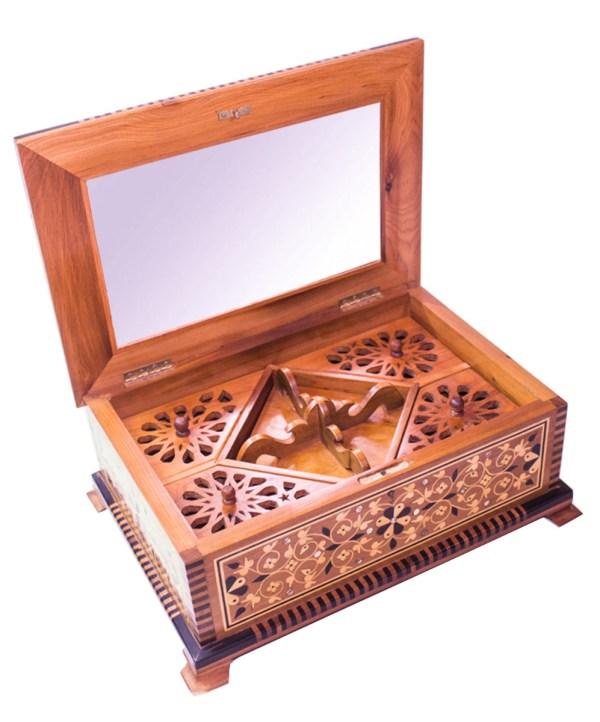Square wood box SWJB-06-2796