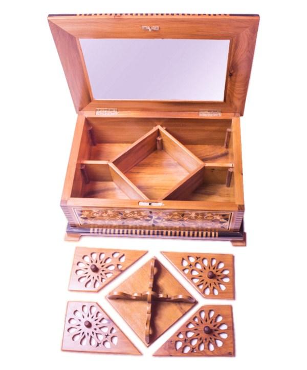 Square wood box SWJB-06-2795