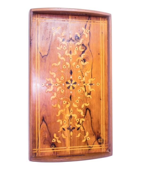 Tray of Thuya wood WP-04WT -2889