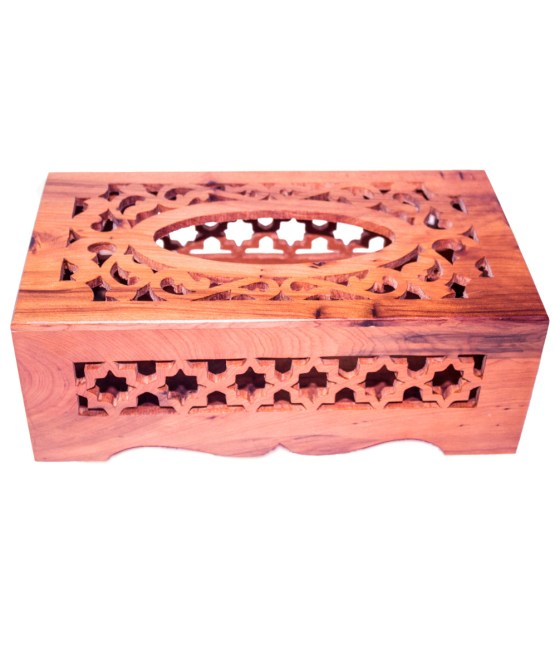 wood Tissue Box WJTB-01-0