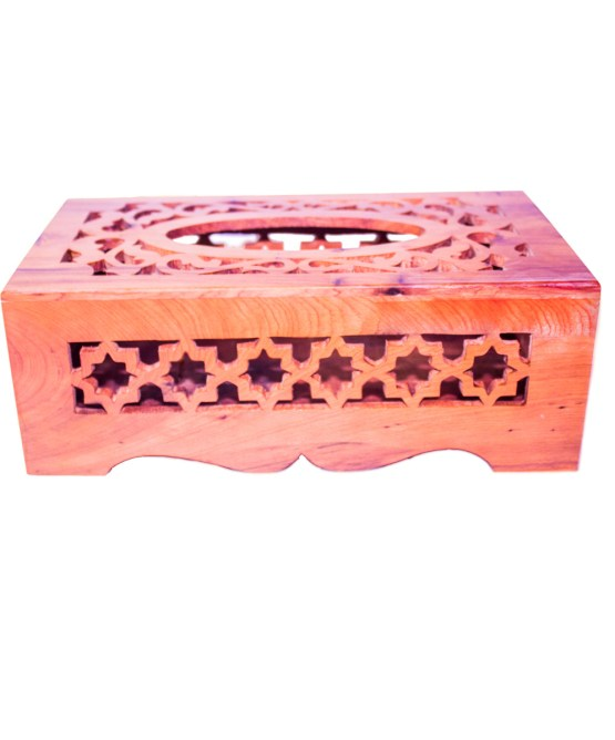 wood Tissue Box WJTB-01-2852